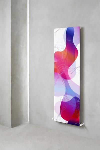 Caleido Art Paneelheizkörper, Handtuchtrockner, Heizkörper, by Karim Rashid
