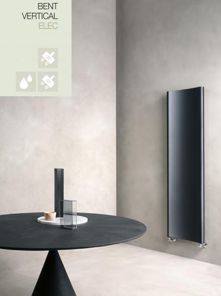 Caleido Bent Elektro Badheizkörper, Handtuchtrockner elektrisch, viele Größen und Farben