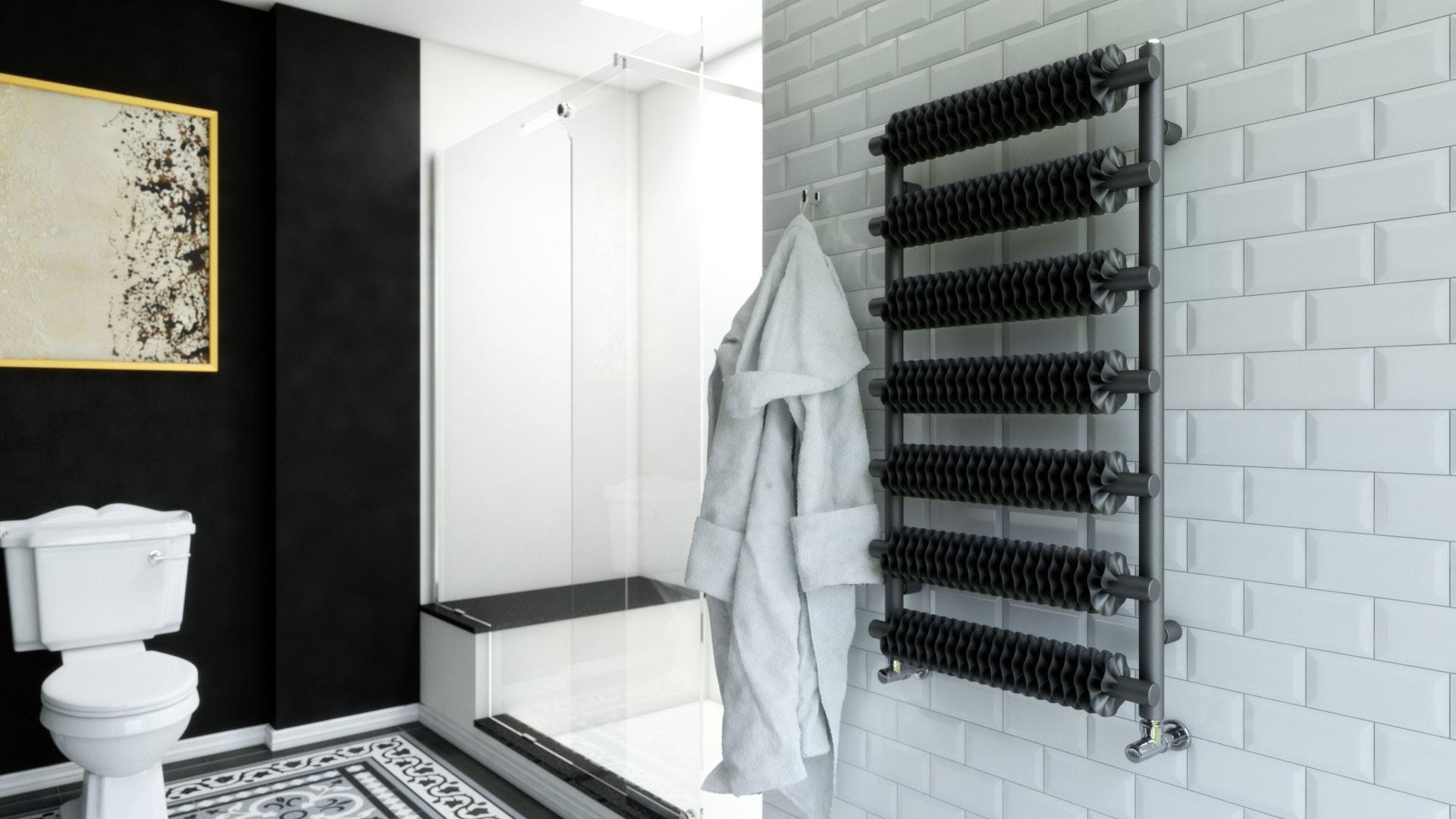 Design Badheizkörper, Handtuchtrockner Terma Ribbon T