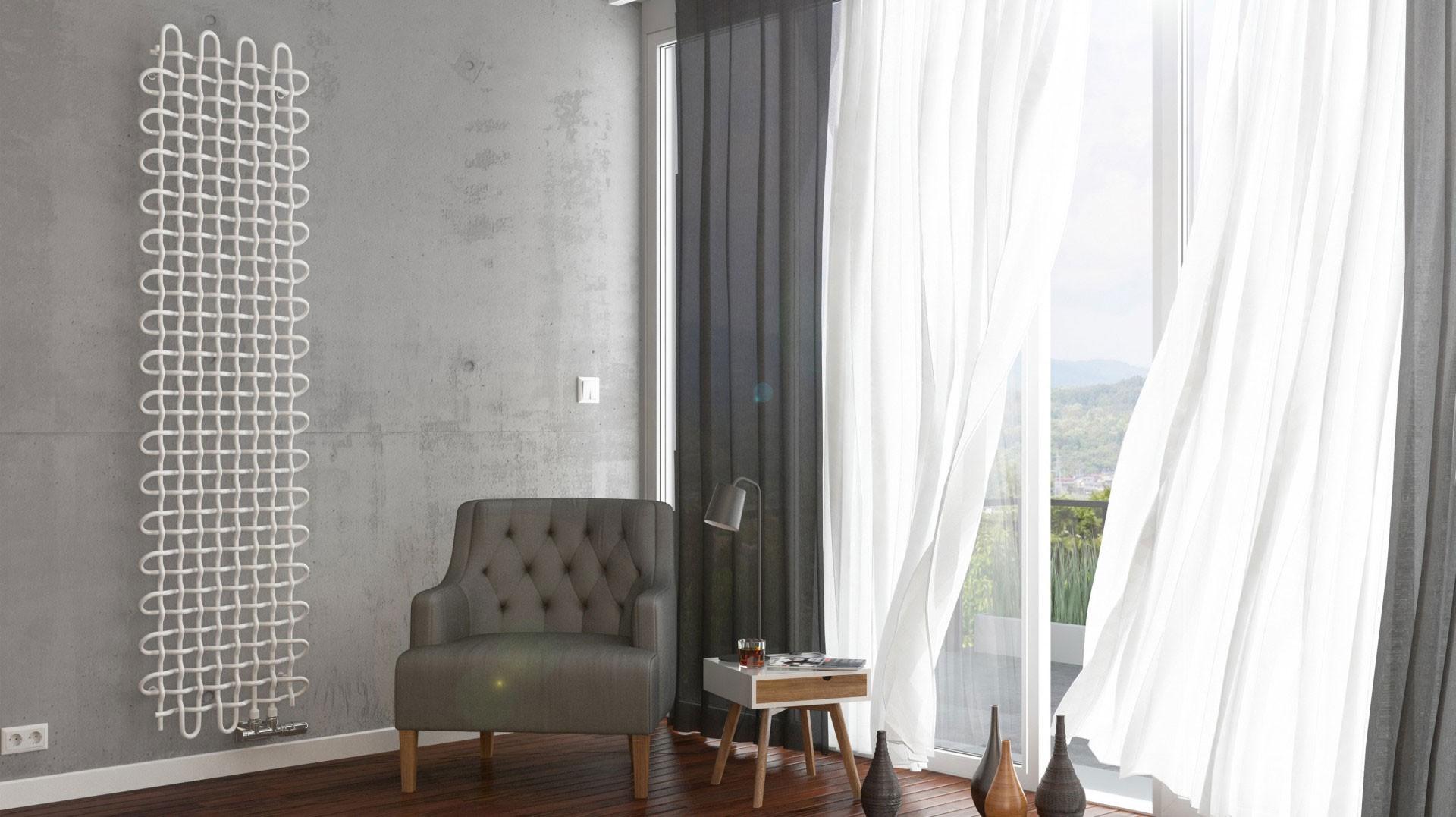 Design Gitterheizkörper, Wohnraumheizkörper Terma PLC V vertikal