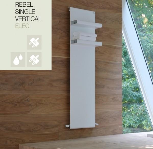 Caleido Rebel Elektro Design Heizkörper, Badheizkörper, Hantuchtrockner elektrisch, 2 Größen