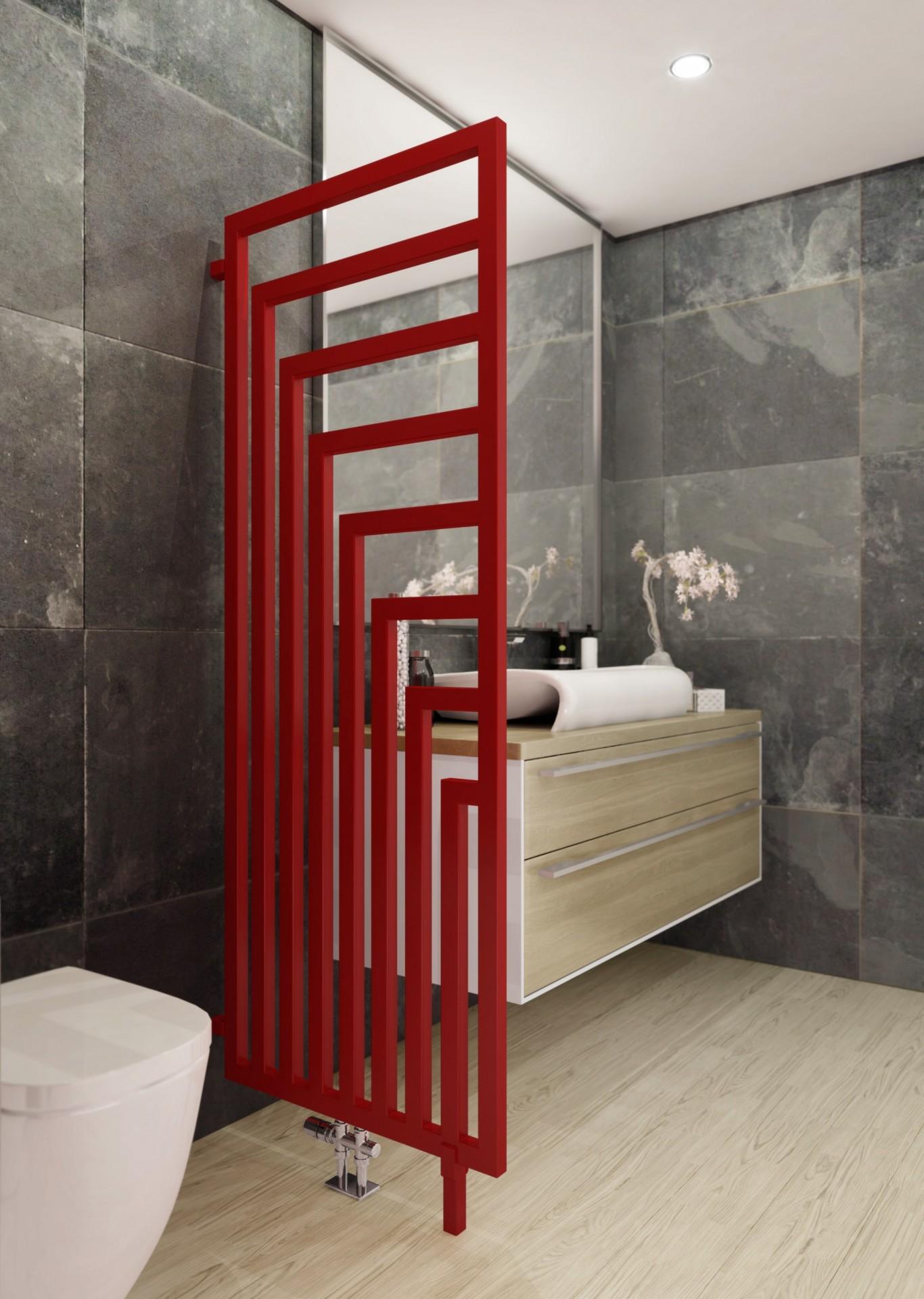 Design Badheizkörper, Wohnraumheizkörper Terma Angus DW Raumteiler