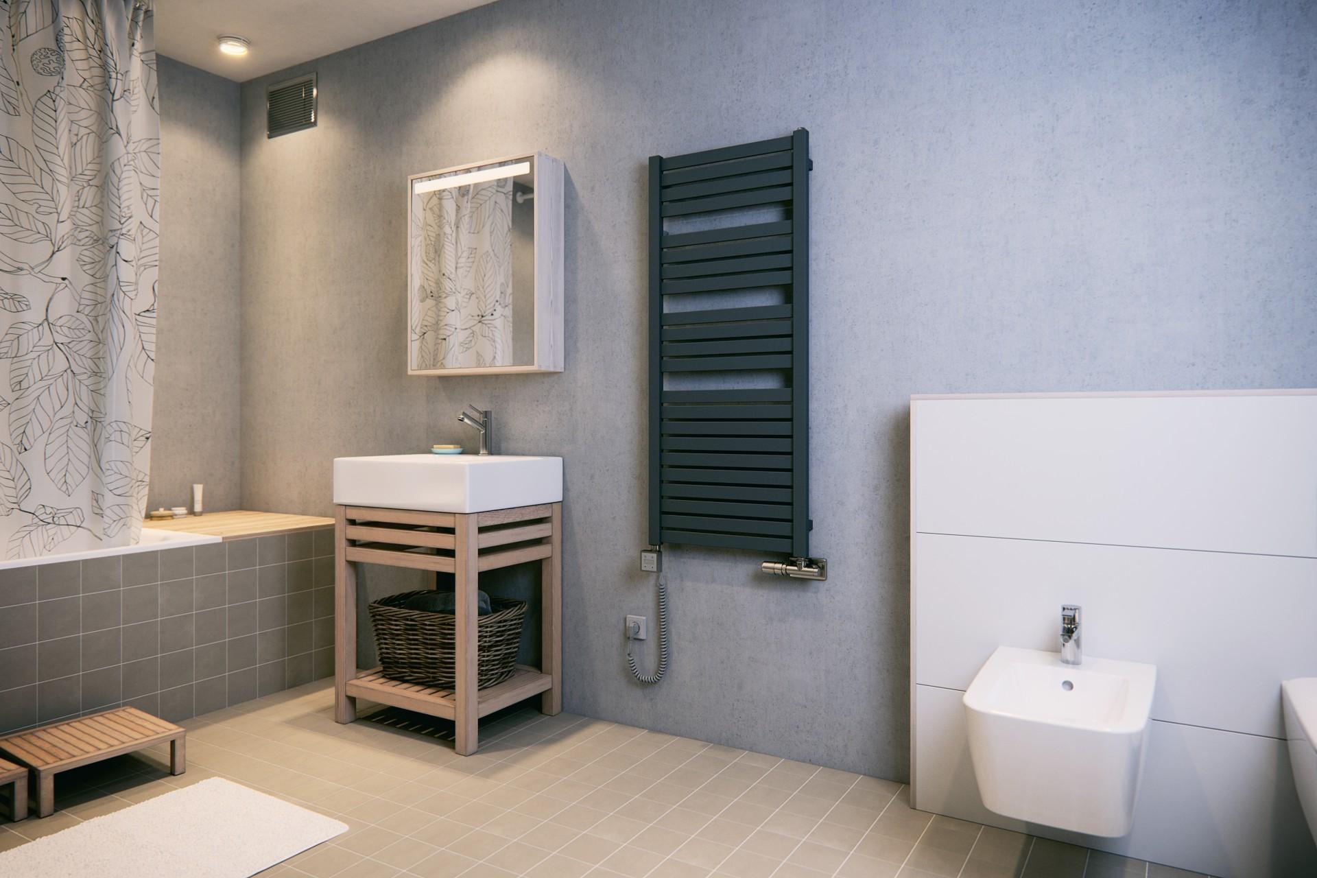 Badheizkörper, Handtuchtrockner Terma Mantis modern