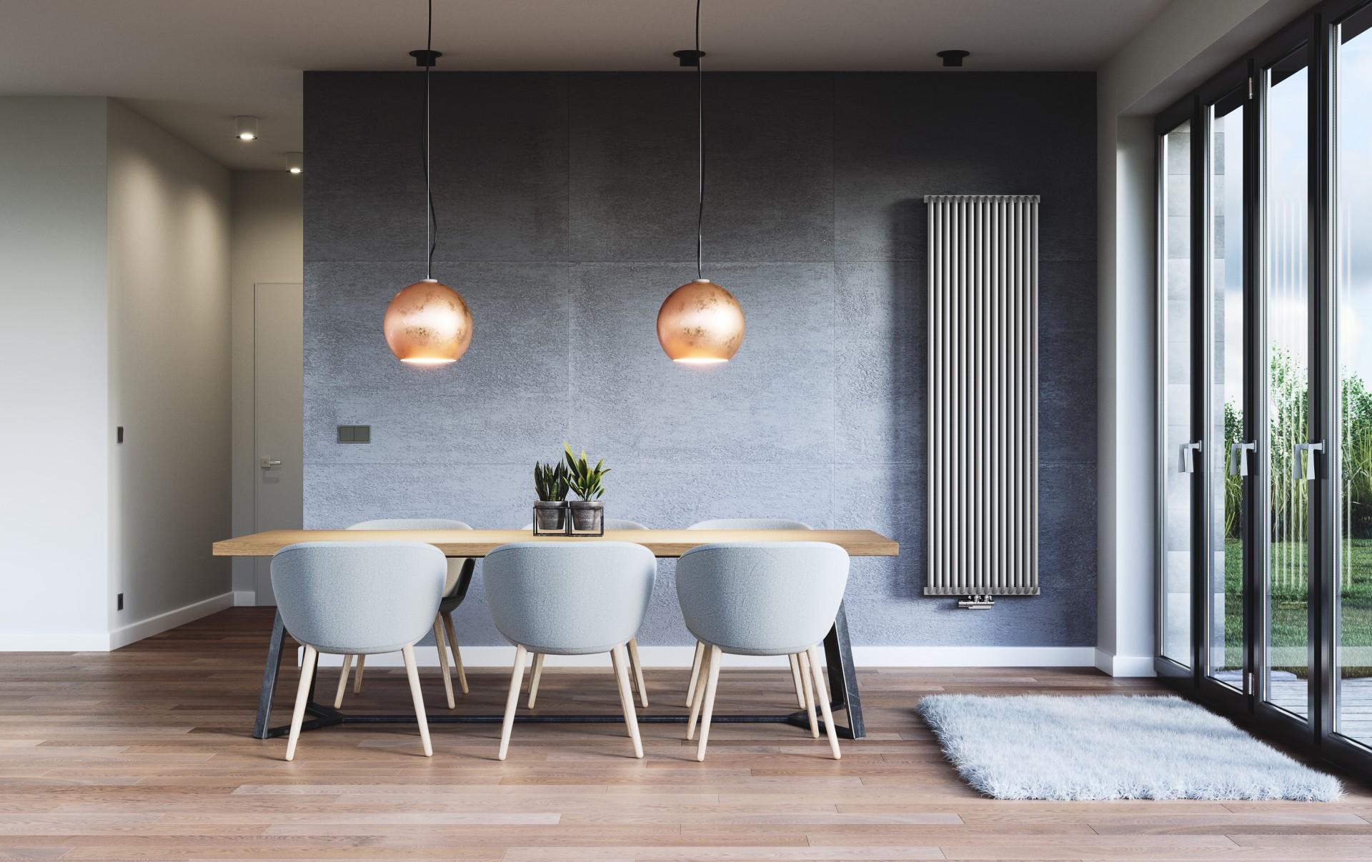 Design Röhrenheizkörper, Wohnraumheizkörper Terma Delfin vertikal