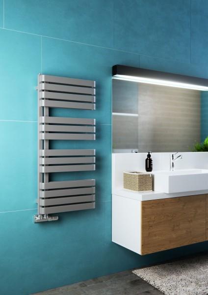 Moderner Badheizkörper, Design Handtuchtrcokner Terma Warp S