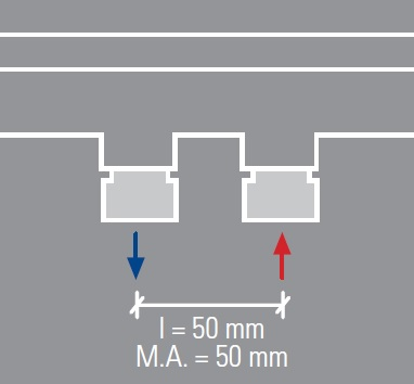 Mittelanschluss-A