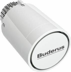 Buderus Logafix Thermostatkopf mit Nullstellung für Klemm oder Schraubanschluss