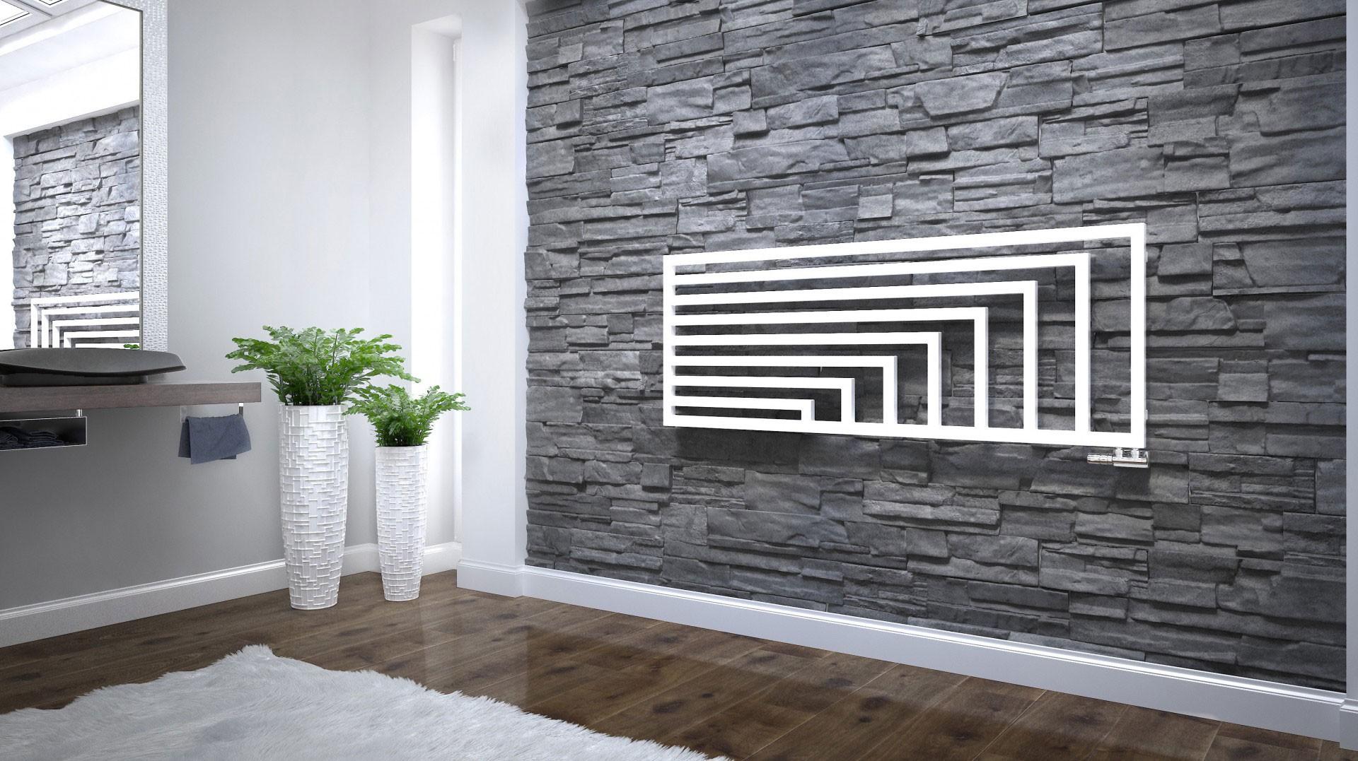 Design Badheizkörper, Wohnraumheizkörper Terma Angus horizontal