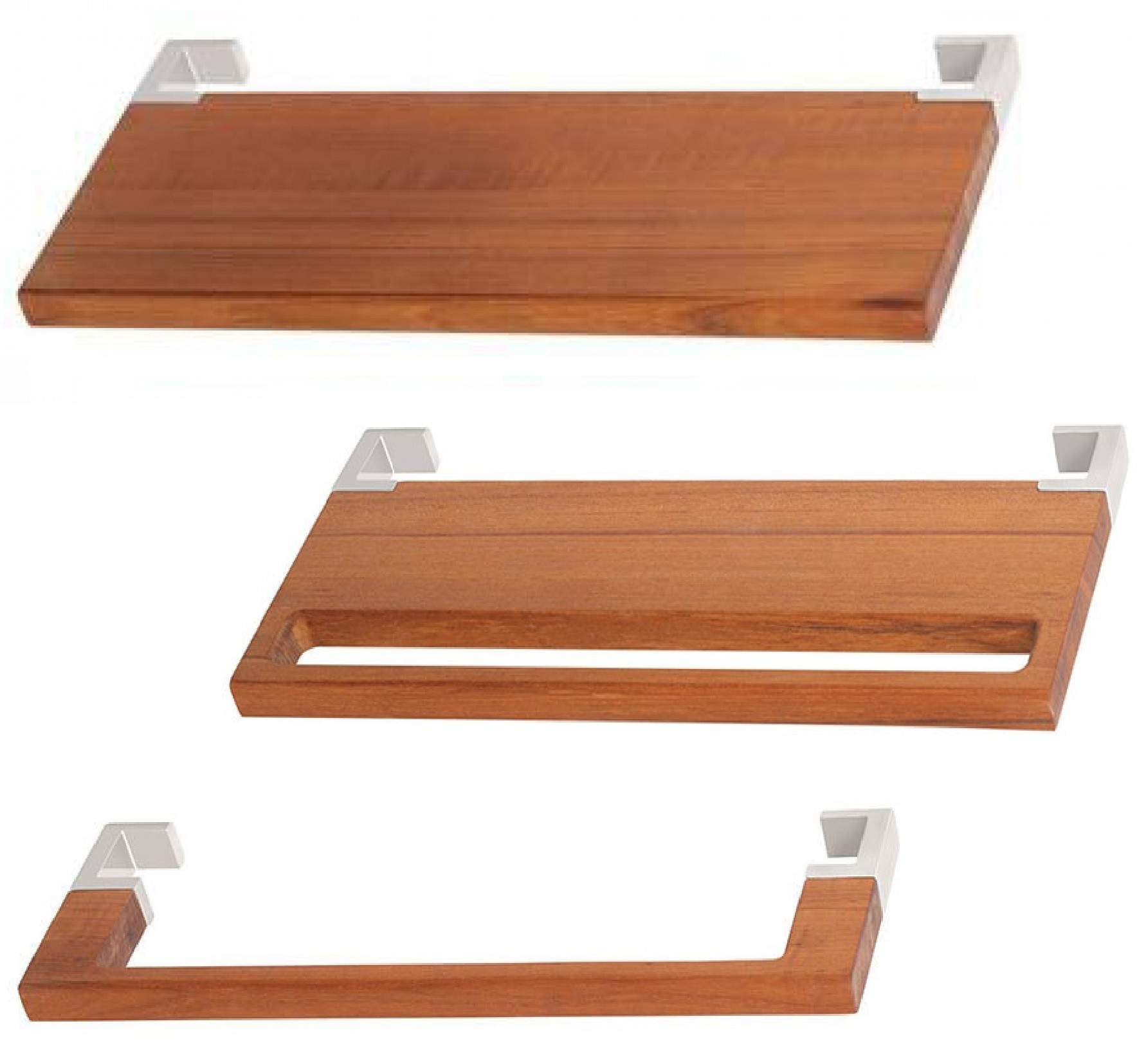 Ablage aus Holz für Badheizkörper, passend für Terma Triga