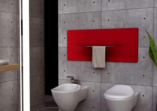 Caleido Cut Paneelheizkörper horizontal, Handtuchtrockner, Badheizkörper, viele Größen & Farben
