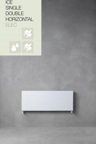 Caleido Ice horizontal, Elektro Paneelheizkörper, Plattenheizkörper, elektrisch, 7 Größen & Farben