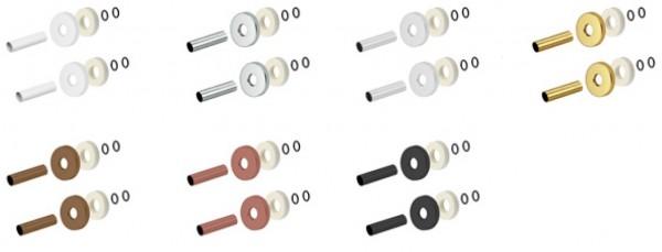 Caleido Verkleidung Rohrleitung, Blende, 7 Farben, 2 Größen