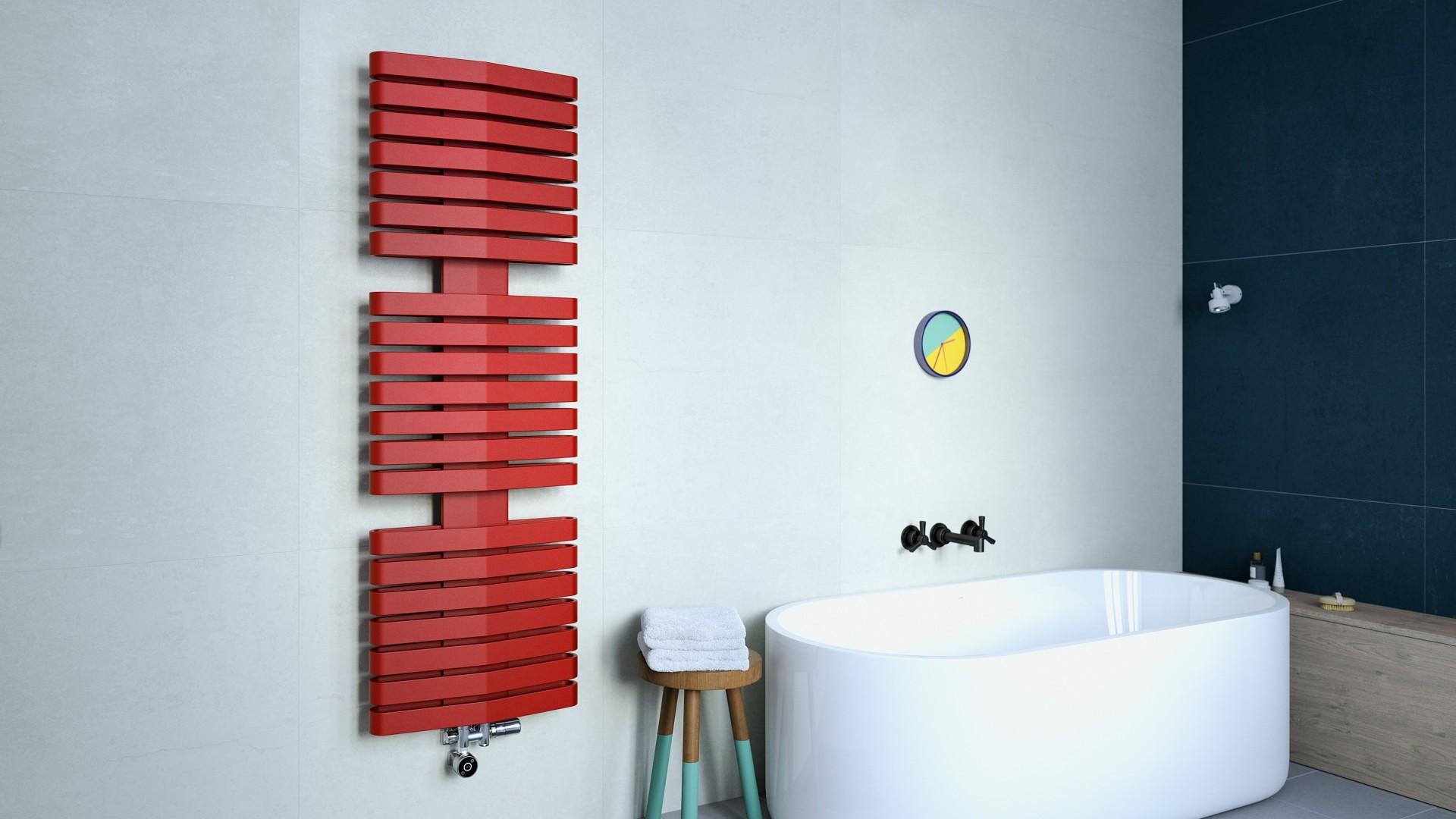 Moderner Badheizkörper, Design Handtuchtrcokner Terma Iron D