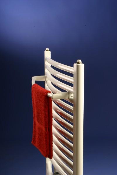 Corpotherma Handtuchstange gebogen, Stange für Badheizkörper