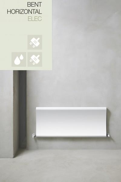 Caleido Bent horizontal, Elektro Plattenheizkörper, Heizkörper elektrisch, viele Größen & Farben