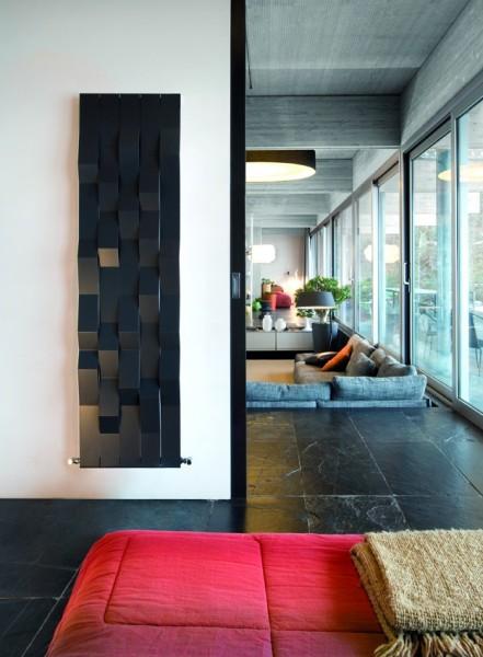Caleido Stone Paneelheizkörper, Design Heizkörper, Heizwand by James Di Marco