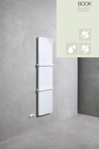 Caleido Book Elektro Plattenheizkörper, Handtuchtrockner, Badheizkörper elektrisch, viele Größen