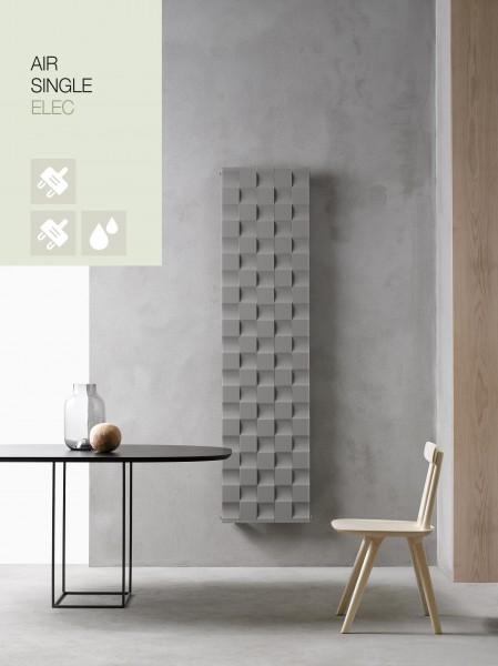 Caleido Air Elektro Paneelheizkörper, Design Heizkörper, Heizwand by James Di Marco