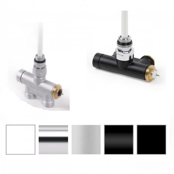Lanzenventil Anschlussgarnitur für Heizkörper mit 50mm seitlich Anschluss, Terma