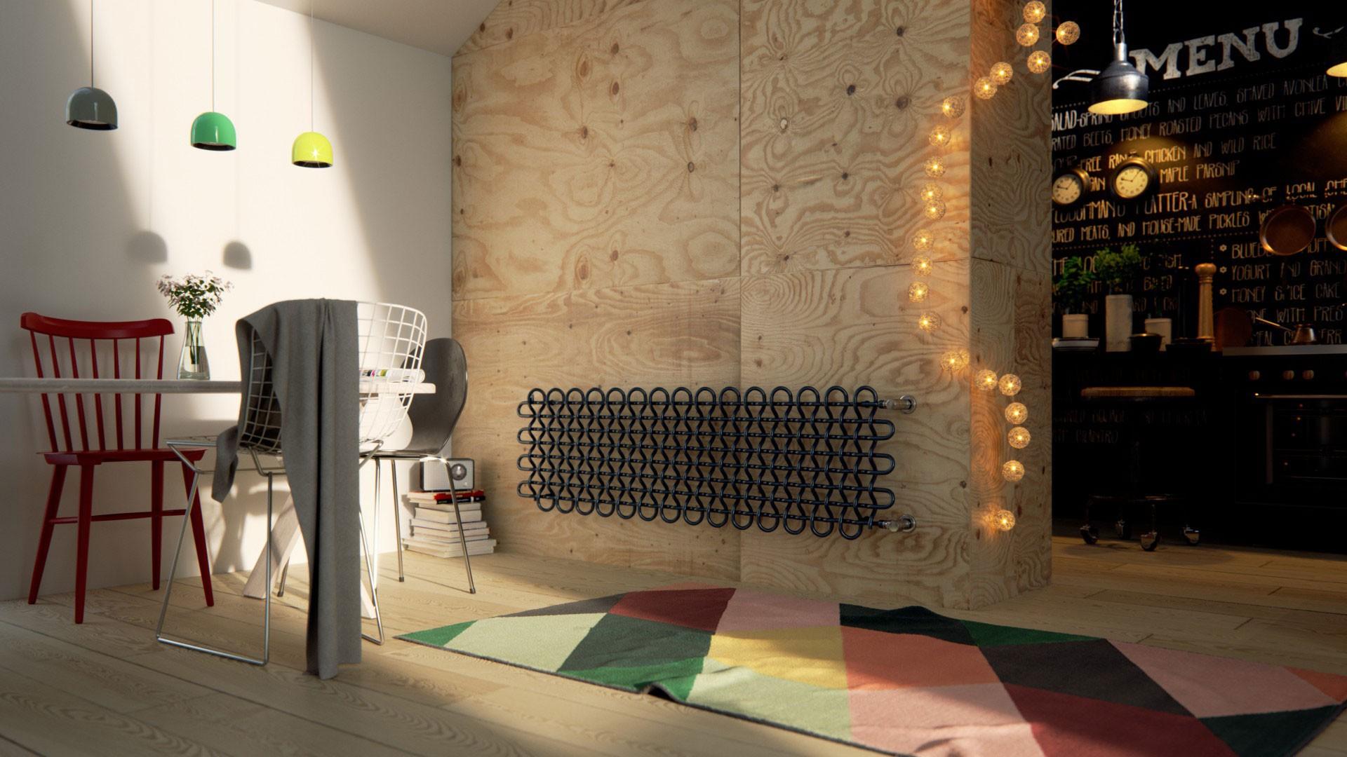 Design Gitterheizkörper, Wohnraumheizkörper Terma PLC H horizontal