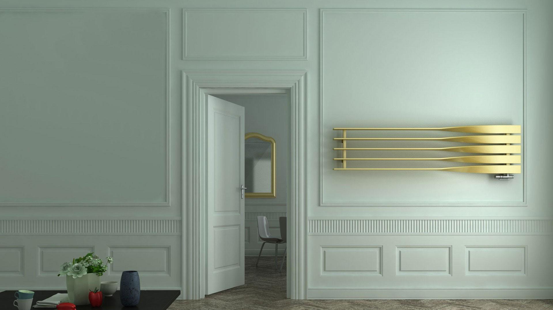 Design Röhrenheizkörper, Wohnraumheizkörper Terma Cyklon H horizontal