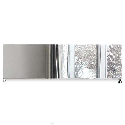 Caleido Ice Inox horizontal, Paneelheizkörper, Plattenheizkörper, viele Größen, glänzend o satiniert
