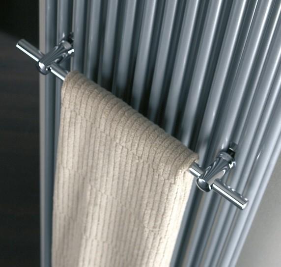 HSK Twin Handtuchstange, Hantuchhalter gerade, verchromt