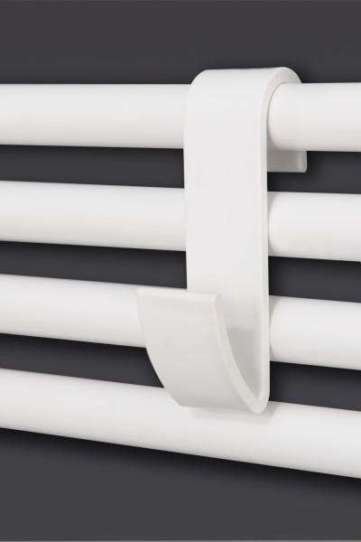 Corpotherma Handtuchhaken, Haken für Badheizkörper und Duschwände