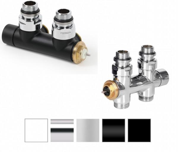 Multiblock, Anschlussgarnitur für Heizkörper mit 50mm Anschluss, Terma