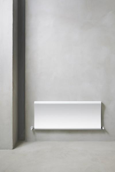 Caleido Bent horizontal, Plattenheizkörper, Heizkörper gebogen, viele Größen und Farben