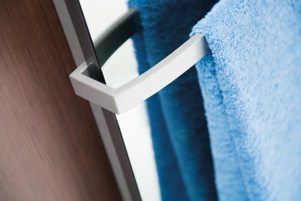 HSK Softcube Handtuchstange, Hantuchhalter gebogen, verscheidene Farben