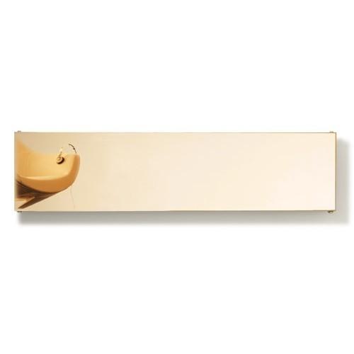 Caleido Ice Gold Finish horizontal Paneelheizkörper, Plattenheizkörper, Heizwand, Heizkörper