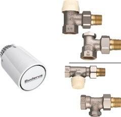 Buderus Anschlussset Verschraubung Thermostat Eck- oder Durchgangsform C/CV Logatrend