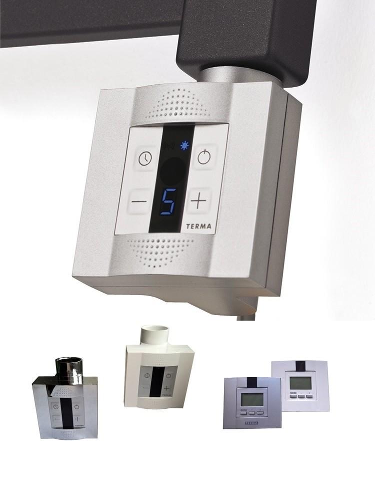 Terma KTX-4 Heizstab Heizpatrone elektrisch mit Stecker und Schalter, 3 Farben, 3 Größen