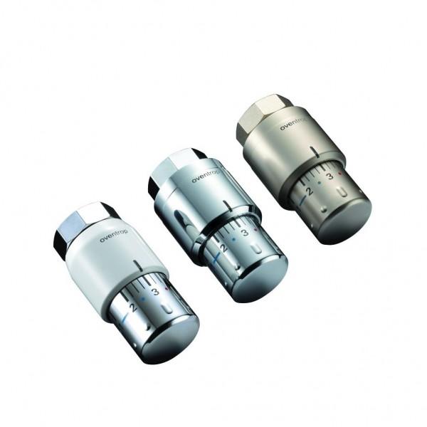 Oventrop Uni SH Thermostatkopf mit Nullstellung, Gewindeanschluss M30 x 1,5, 3 Farben